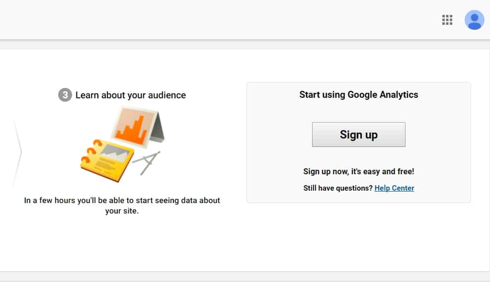 Google Analytics Account Setup